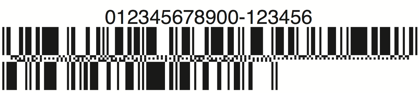 databar coupon barcode